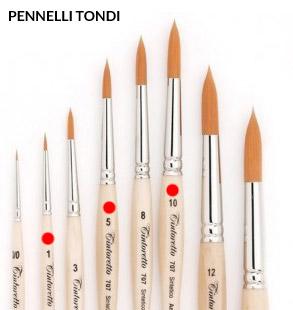 pennelli-tondi