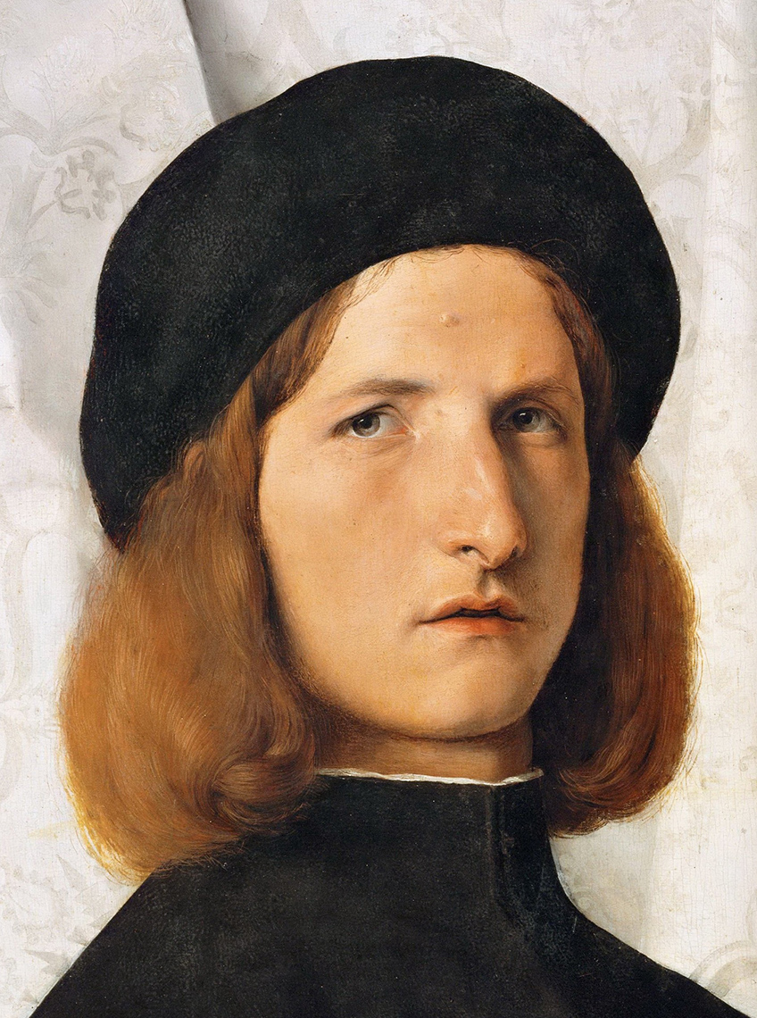 Lorenzo Lotto ritratto di uomo